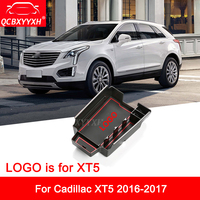 Car Styling For Cadillac XT5 2016 2017 LHD Car Center Console Armrest Storage Box Covers Interior Decoration Auto Accessories