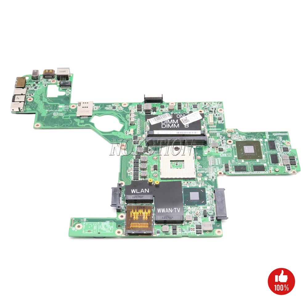 NOKOTION DAGM6CMB8D0 CN-0C47NF 0C47NF Main board For Dell XPS 15 L502X Laptop Motherboard HM67 DDR3 GT525M full tested nokotion cn 0j2ww8 laptop motherboard for dell inspiron n5110 nvidia gt525m 1gb graphics hm67 ddr3 core i7 mainboard