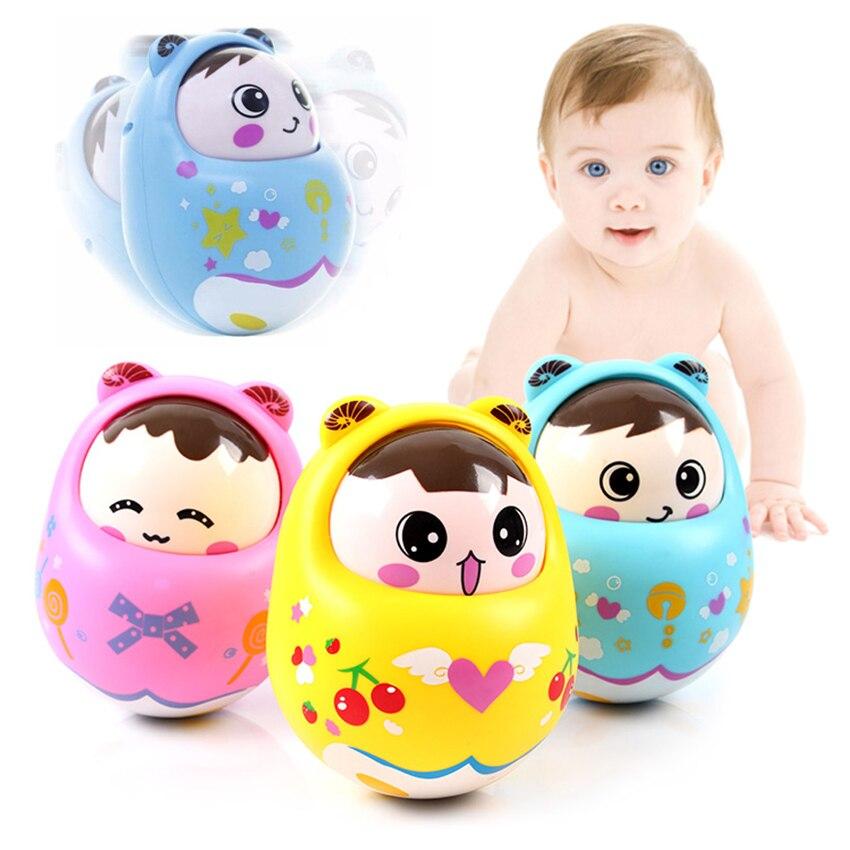 Детские игрушки для новорожденных, игрушки неваляшки для детей, кольцо колокольчика, милые детские развивающие игрушки-погремушки