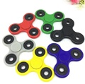6 Colors 2017 New Tri-Spinner Fidget Toy  EDC Fidget Hand Spinner A desk Vinly toy For Autism & ADHD Children Adults Best Gift