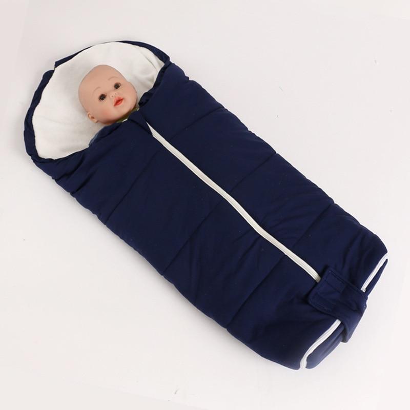 best sneakers 5a433 c2a20 US $26.86  Cotton Padded Baby Sleeping Bag Winter Baby Stroller Sleeping  Bag Infant Envelope Sleeping Bag For Stroller Accessories SD03-in  Sleepsacks ...