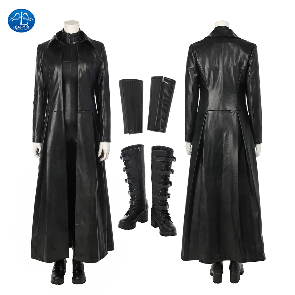 New Underworld Blood Wars Selene Cosplay Costume Women Halloween Costumes For Adult Vampire Selena Jumpsuit Sexy Leather Costume