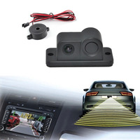 2 In 1 HD Car Reverse Backup CCD LED Rear View Camera Parking Sensors Radar Rearview