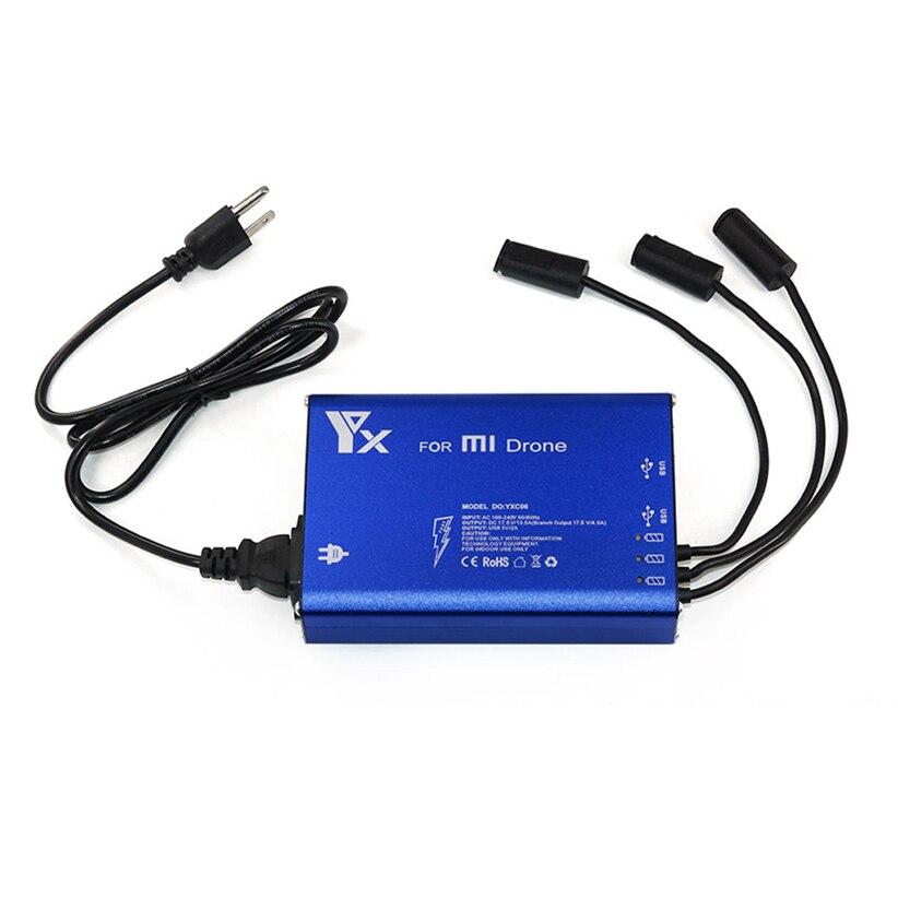 Nouveau chargeur de batterie Intelligent 5 en 1 à moyeu de puissance parallèle pour XIAOMI MI Drone Futural Digital jiu7