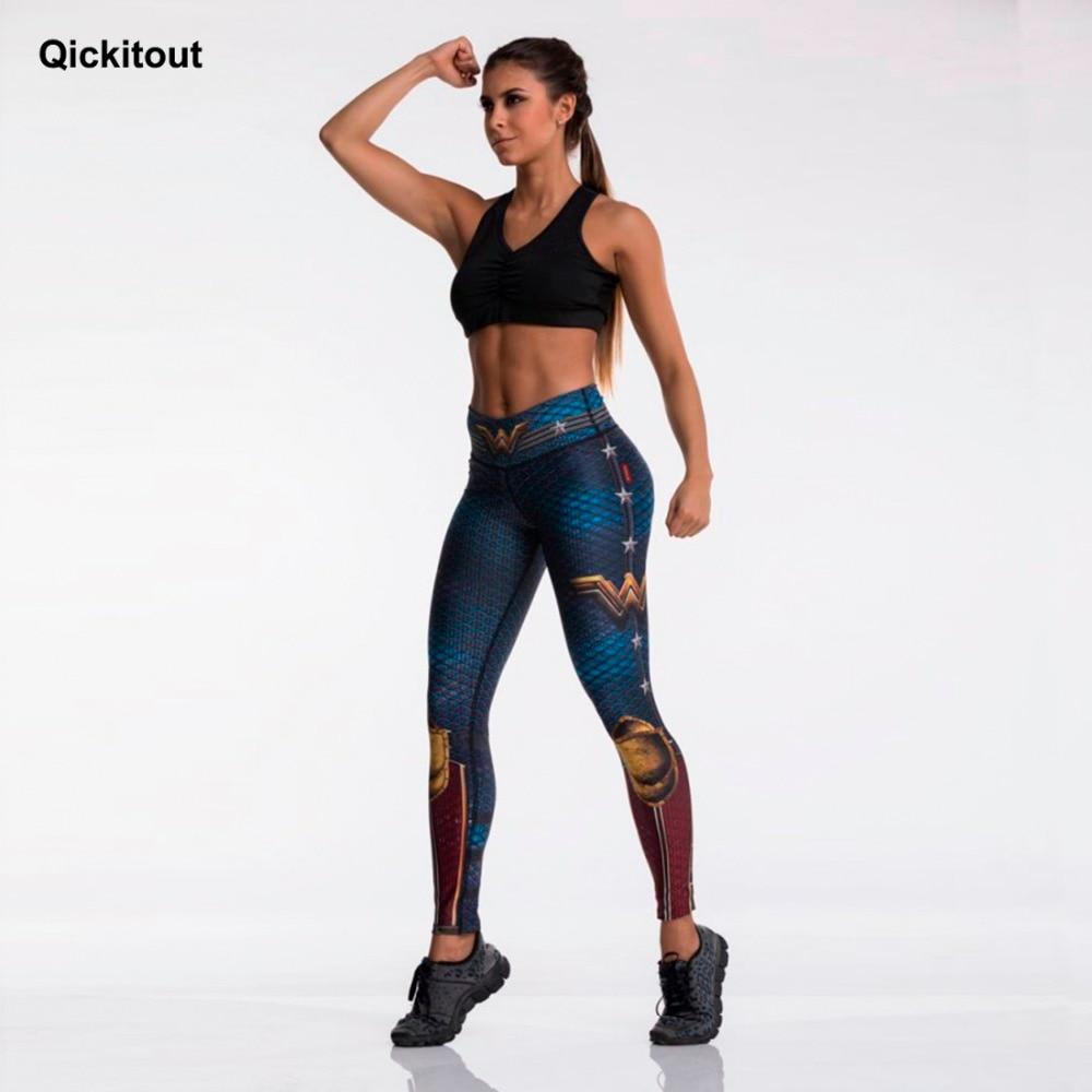 Fashion Tibetan Blue Captain Fight Push Up Workout Leggings Slim High Waist Jeggings Women Sexy Sportswear Leggings Workout 4
