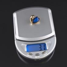 500g x 0,1g LCD joyas electrónicas joyeria peso equipaje bilancia balanza Digital balanza portátil Mini plataforma caliente