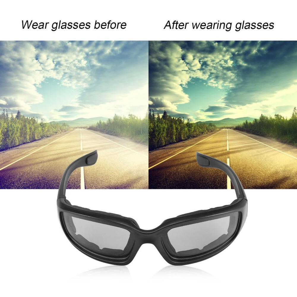Motorcycle Bike Protective Glasses Windproof Dustproof Eye Glasses Cycling Goggles Eyeglasses Outdoor Sports Eyewear Glasses New