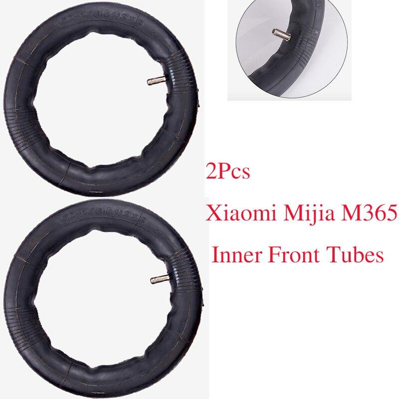 2 pcs Amélioré Xiaomi Mijia M365 Pneu Électrique Scooter 8 1/2x2 Intérieure Tubes Pneumatique Pneus Durable épais Roues Extérieures Solides Pneus