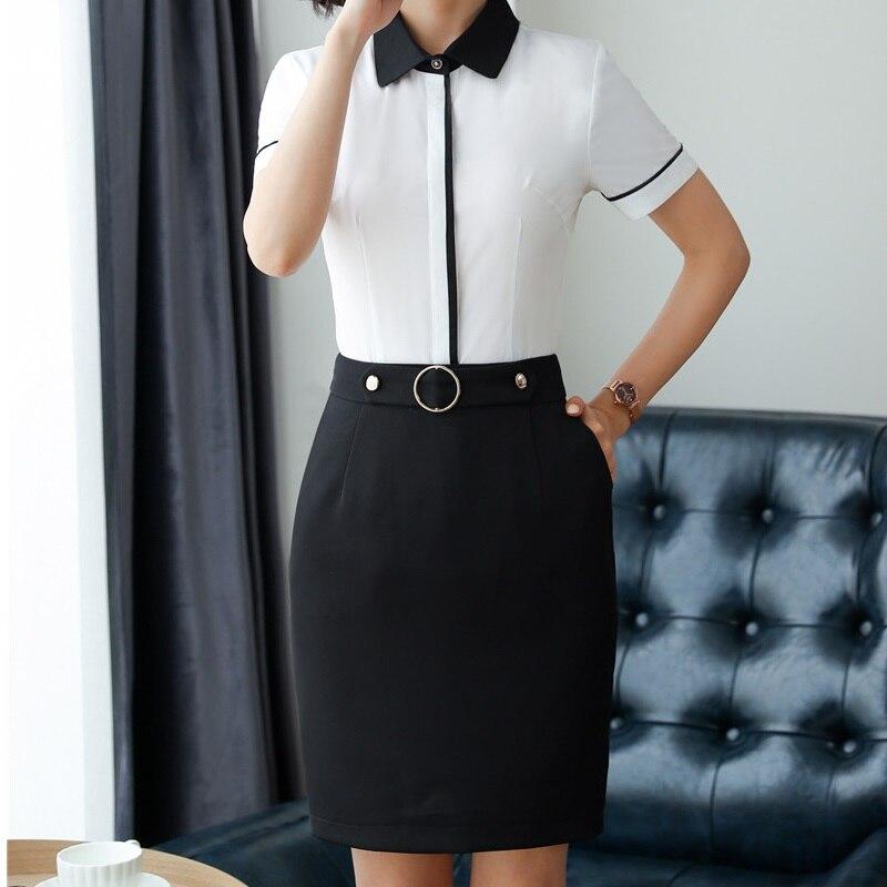 2018 New Styles Elegant Black Slim Hips Skirts For Business Women Work Wear Ladies -3917