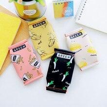 Милый мини-кошелек с рисунком печенья ПУ, кожаная монета, кошелек, женский цветочный кошелек на молнии, чехол с держаками карт, сумка для детей 12*9 см