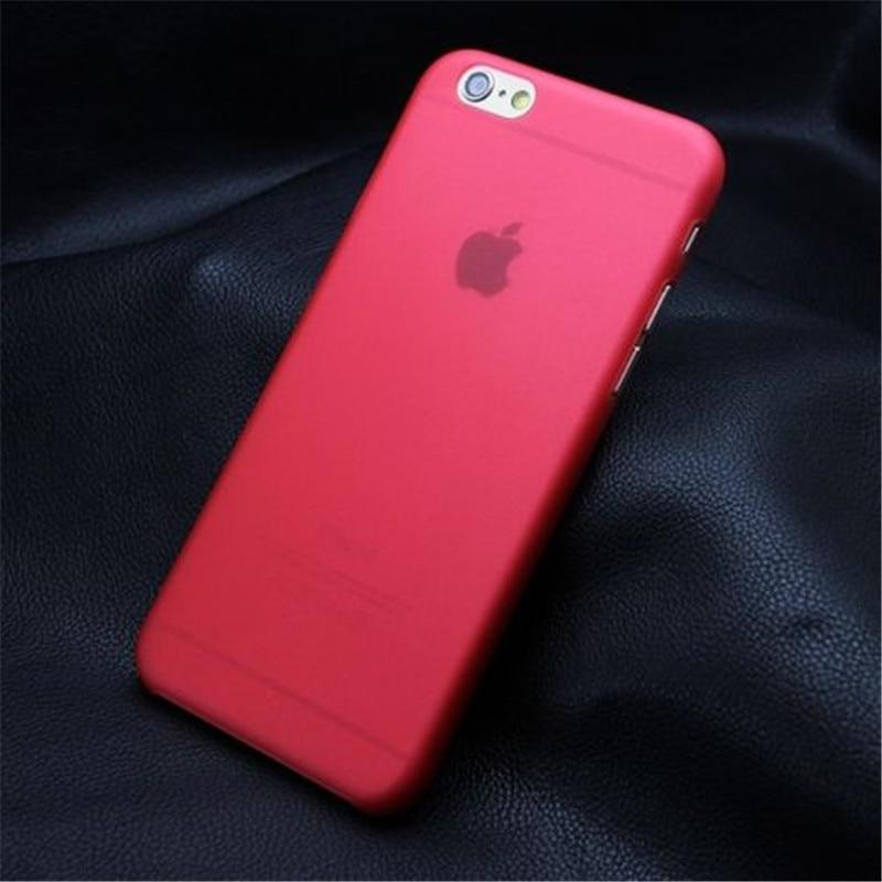 Lulumi Red Color For font b iPhone b font 6 6s font b 7 b font