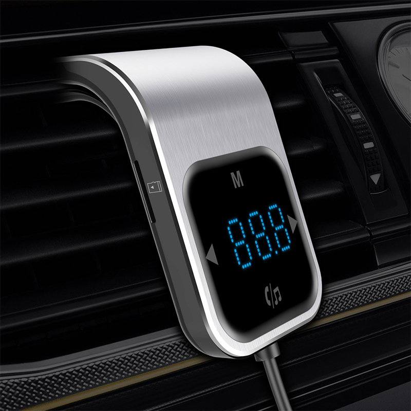 CDEN Touch-taste auto MP3 player Bluetooth auto FM transmitter dual USB ladegerät TF karte musik-player hände-freies telefon auto audio