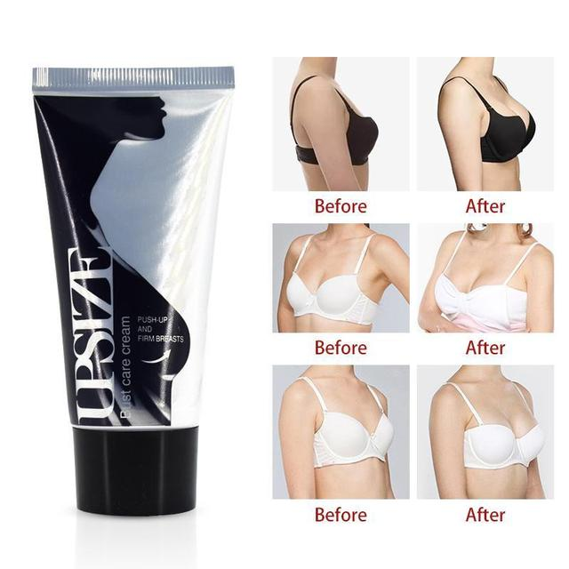 Best Up Size Bust Care Breast Enhancement Cream Breast Enlargement Promote  Female Hormones Breast Lift Firming Massage Cream U3