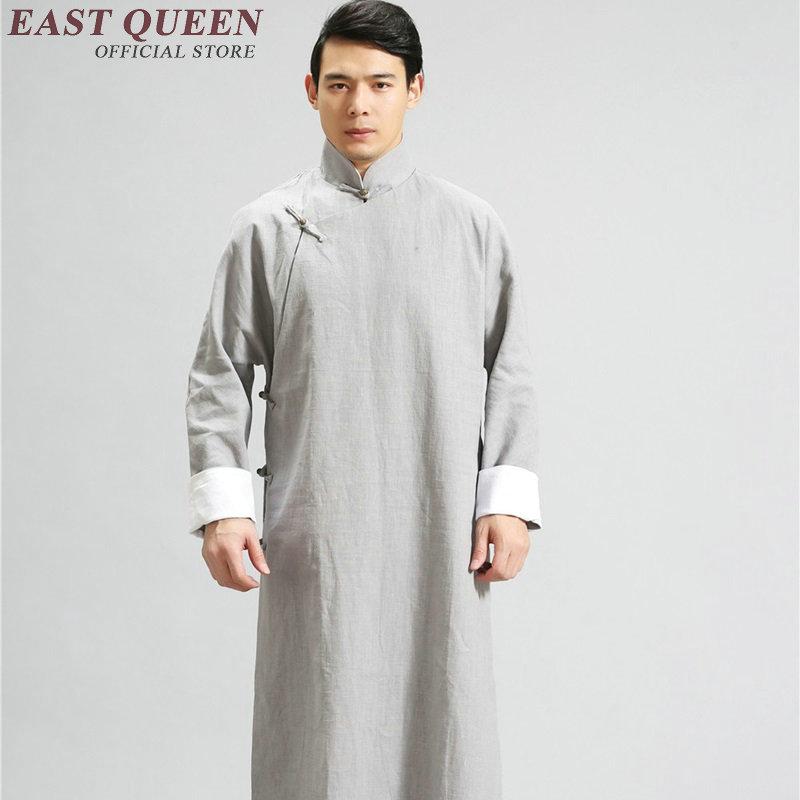 Traditional chinese clothing for men chinese style costume wing chun zen clothing traditional chinese dress men KK1611 H
