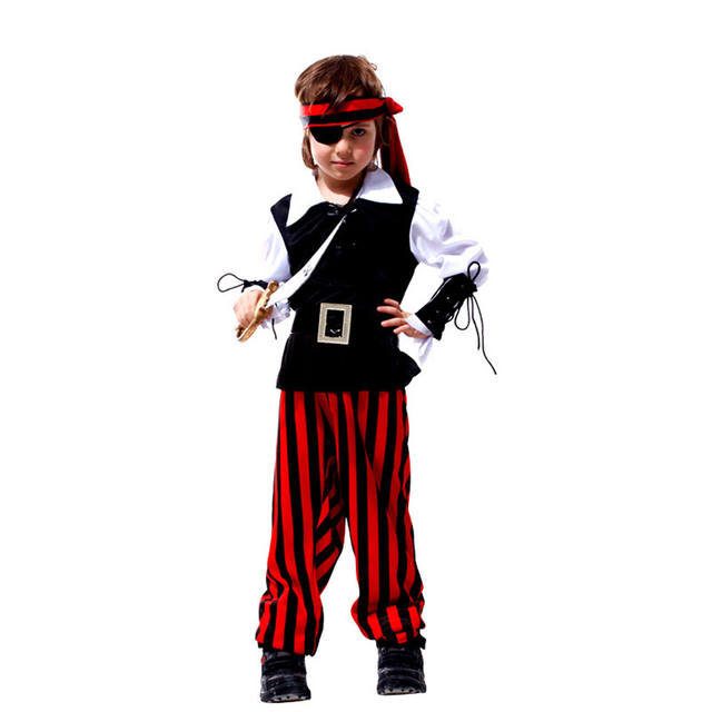 Boys Pirate Costume for Halloween