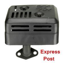 Выхлопная система глушителя с теплозащитным монтажным уплотнением для Honda GX120 GX160 GX200 5,5 для hp 6,5 для hp