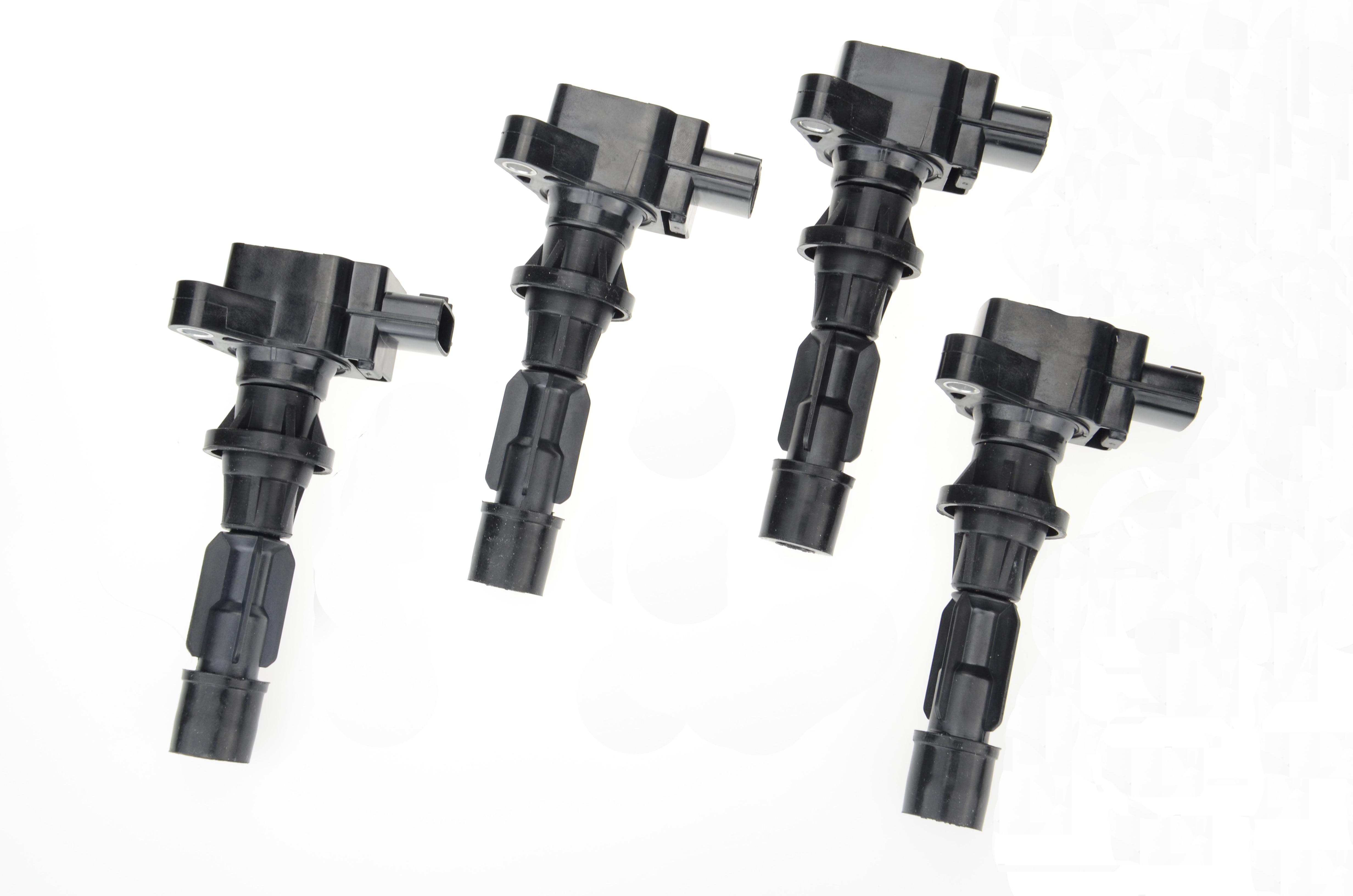 Set of 4 Brand New Ignition Coils for Ford Escape /& Mazda 3 6 CX7 MX5 Tribute