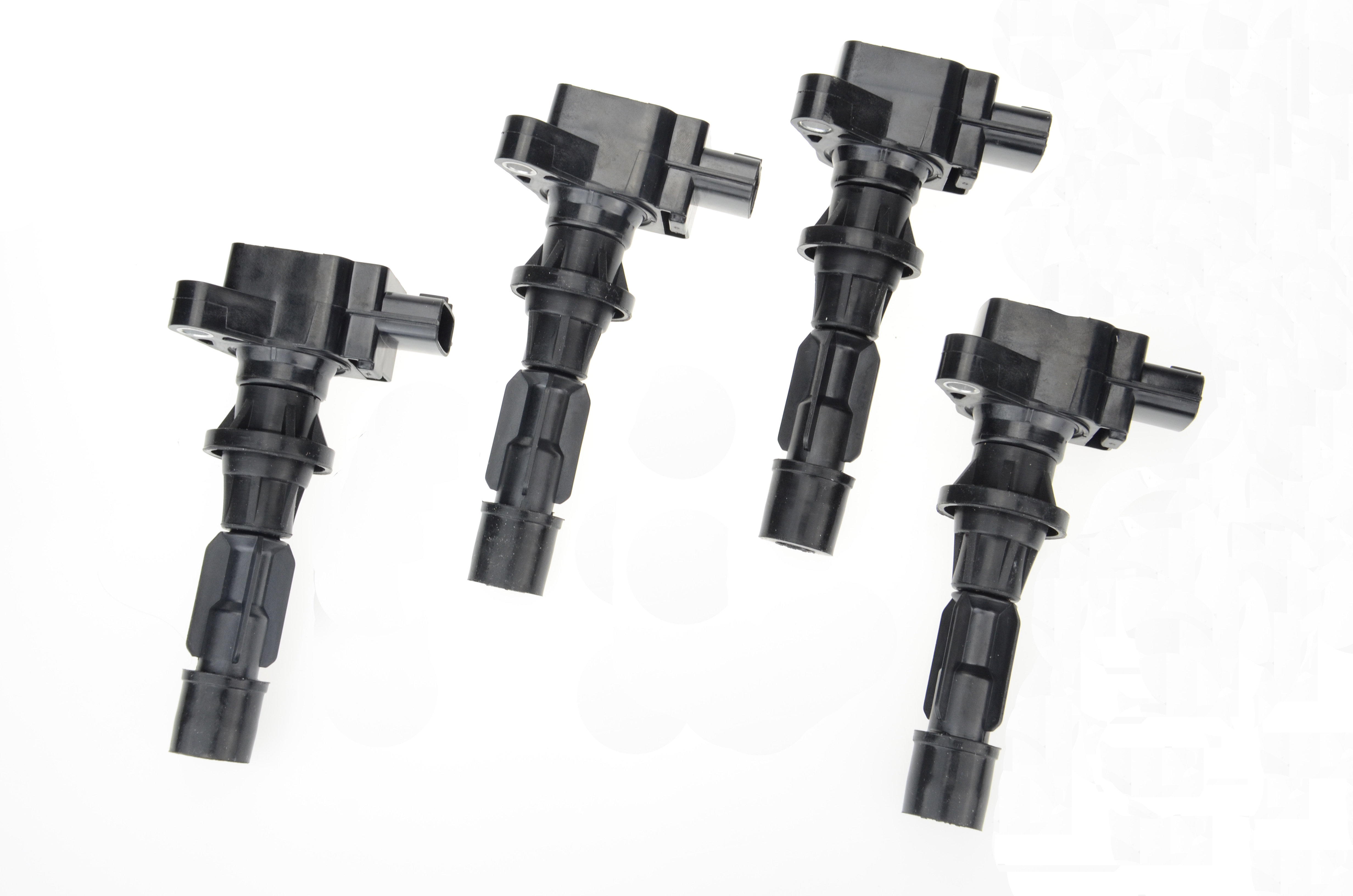 Set of 4pcs ignition coils for mazda 3 bk 6 bj mx5 nc cx7 tribute ford
