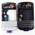 Новый Полный Корпус в Сборе Для Blackberry Q10 Задняя Крышка + средняя Рама + Передняя Корпус + Клавиатура Запасных части