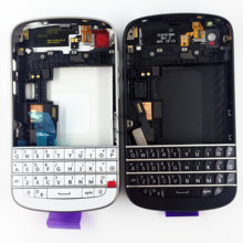Brand New Full Housing Assembly For Blackberry Q10 Back Cover + Middle Frame + Front Housing + Keypad Repair Spare Parts