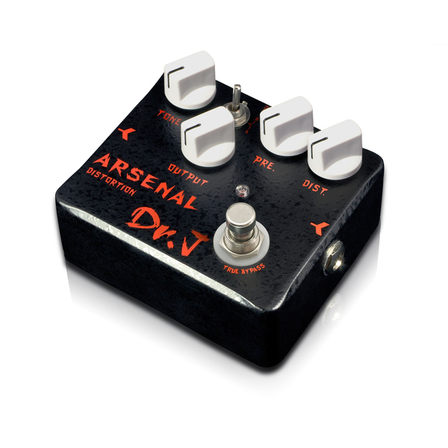 Cheap Dr. J D51 Arsenal Distortion Guitar Effect Pedal Overdrive Hand Made Electric Guitarra True Bypass free shipping