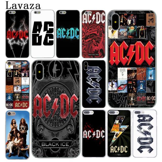 coque acdc iphone x