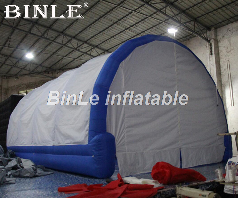 High Quality 6m Waterproof Inflatable Car Wash Tent Outdoor Portable