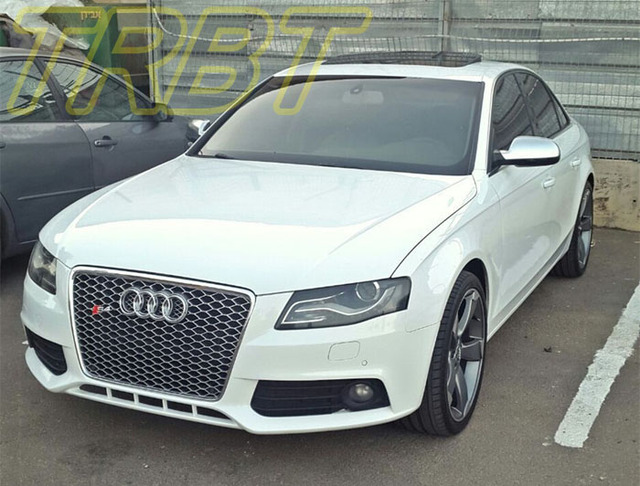 Rs4 Grill A4 B8 Grille A4l Front Bumper Grill Abs Mesh A4 Non Sline