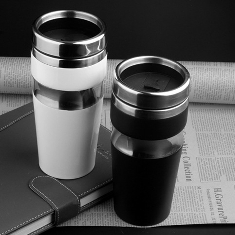 450ML Car Thermoses Office Cups Men's Vacuum Flasks Mugs