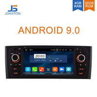 JDASTON Android 9.0 Car Radio For Fiat PUNTO 2005 2009 fiat Linea 2007 2011 Octa Cores 4G+32G Car Multimedia Player GPS Stereo