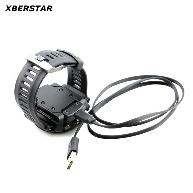 Cradle de carregamento com Cabo de Dados USB Carregador Tampa Traseira Substituição Para Garmin Fenix 3 GPS Relógio Do Esporte
