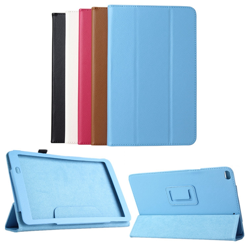 Ultra Thin 3-Folding Stand Flip Cover For Huawei Mediapad T1 10 / T1-A21W / Honor Note 9.6