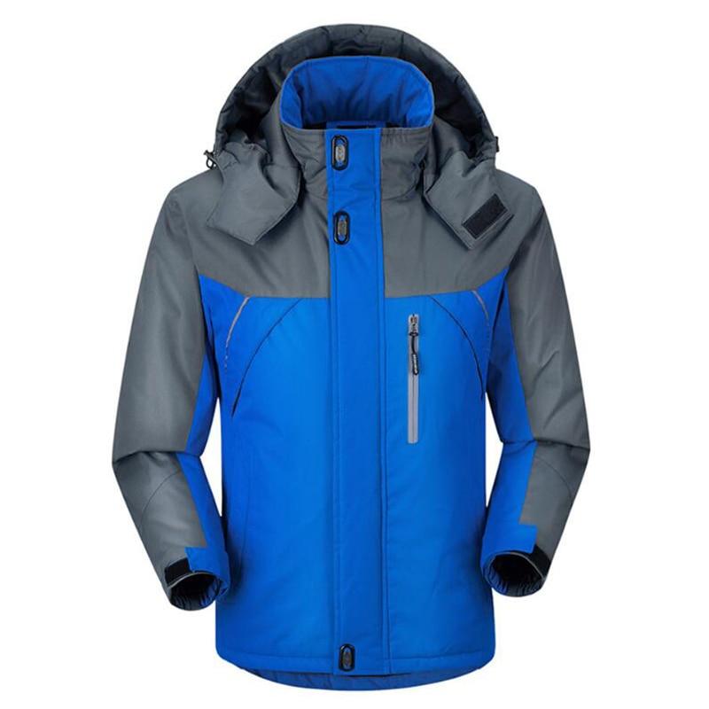 HTB14jjhj22H8KJjy0Fcq6yDlFXat Jacket Men Winter Thick Fleece Waterproof Outwear Military Jackets Plus size 5XL Men's Windbreaker Army Parka Raincoat  Coats