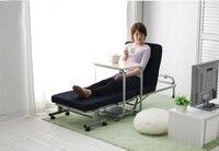 Японский современный ленивый металлическая складная кровать с матрасом мебель для спальни портативная платформа кровать Лежащая односпал