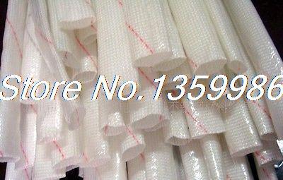 5Pcs !M Long 6mm Electrical Wire Fiberglass Insulation Sleeving