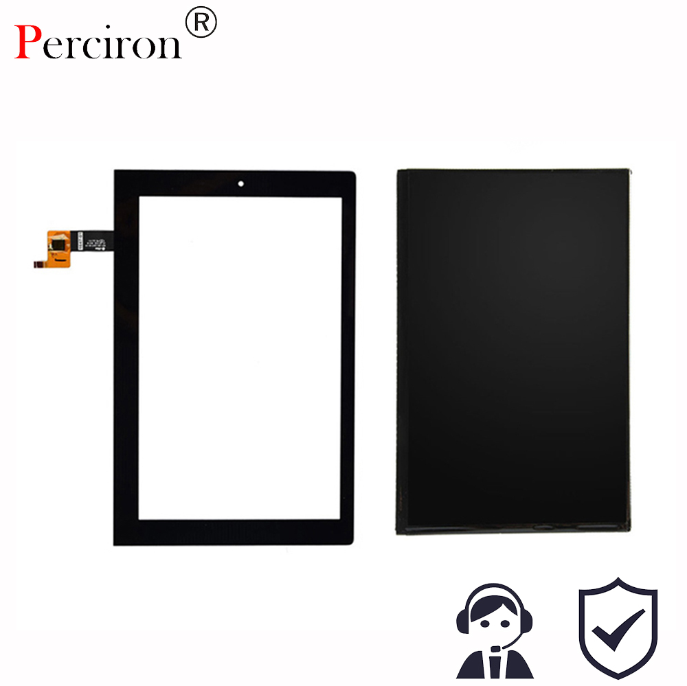 New 10.1'' inch For Lenovo Yoga 2 1050 1050F 1050L Touch Screen Panel Digitizer Glass LCD Display Assembly Parts V4 Freeshipping 5v 2a dual ports usb car charger adapter safety hammer for tablet