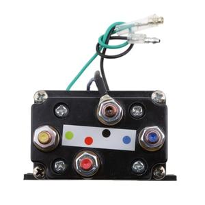 Image 3 - 12 فولت مختومة الإلكترونية ونش التتابع قواطع الملف اللولبي العالمي جزء ل ATV UTV شاحنة السيارات السيارات الأسود 80 مللي متر * 7.5 مللي متر * 40.5 مللي متر