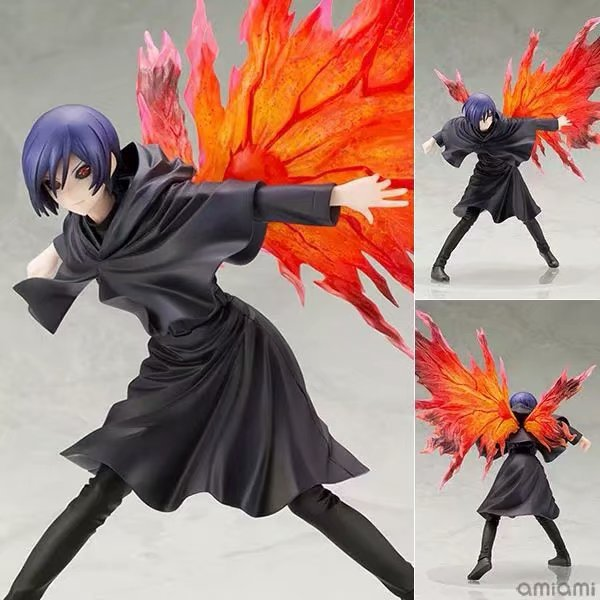 NEW Hot 26cm Touka Kirishima Tokyo Ghoul Generation Of Dark Action Figure Toys Doll Collection Christmas Gift With Box
