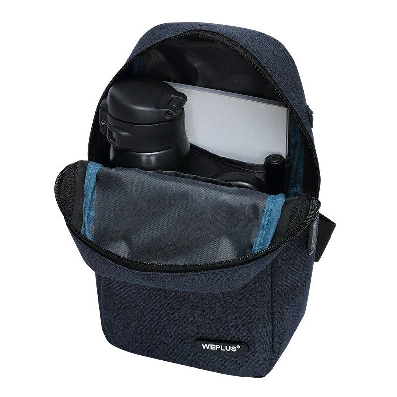 Crossbody Bags for Men Messenger Chest Bag Pack Casual Bag small Nylon Single Shoulder Strap Pack for women wholesale male black 6