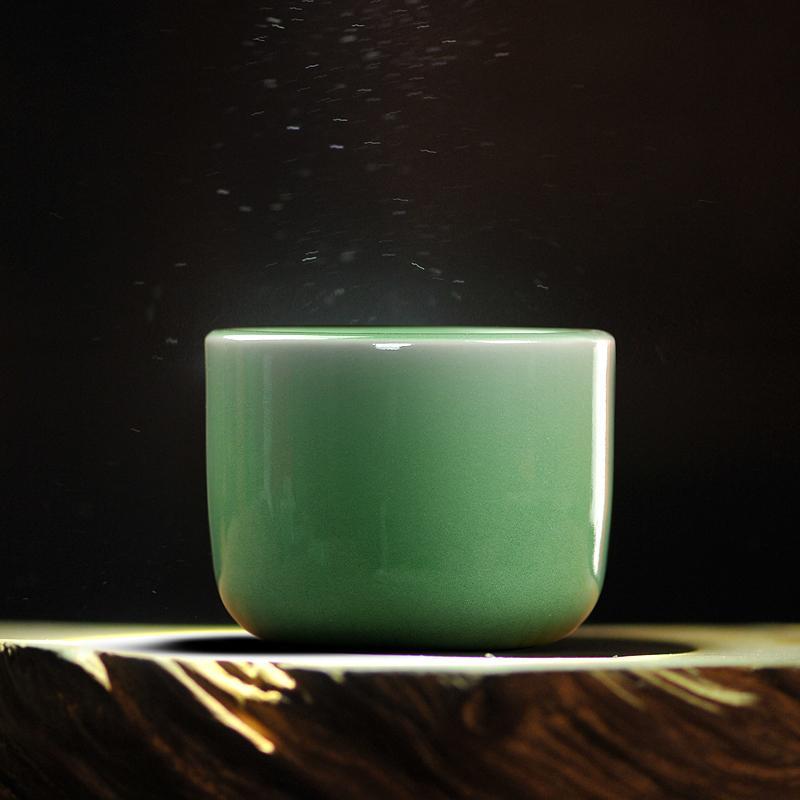 Longquan de luxe celadon main-tirant se référer à des tasses de thé tasse maîtres Kung Fu thé tasse thé tasse