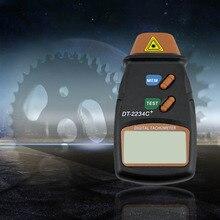 Lo nuevo Laser Digital Del Foto Tacómetro Sin Contacto RPM Tach Medidor de Velocidad del Tacómetro Láser Digital de Alta Calidad Venta Caliente