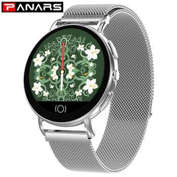 PANARS Smart Watch Men Women Bluetooth Camera Android Watch Women Sport Women Watches IOS Smartwatch Men Fashion Smart Watches