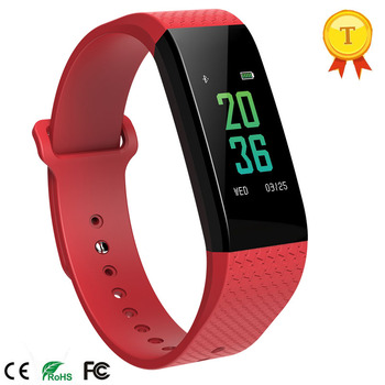 Fashion Smart band Waterproof Heart Rate Blood Pressure Blood Monitor Bracelet Fitness Calories Smart Wristband for Android&iOS