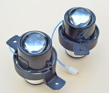 car bifocal fog lens for NISSAN ALMERA,4DR SEDAN,Maxima,OPEL MOVANO,RENAULT CLIO,Taiwan product,Front bumper light,free shipping цены