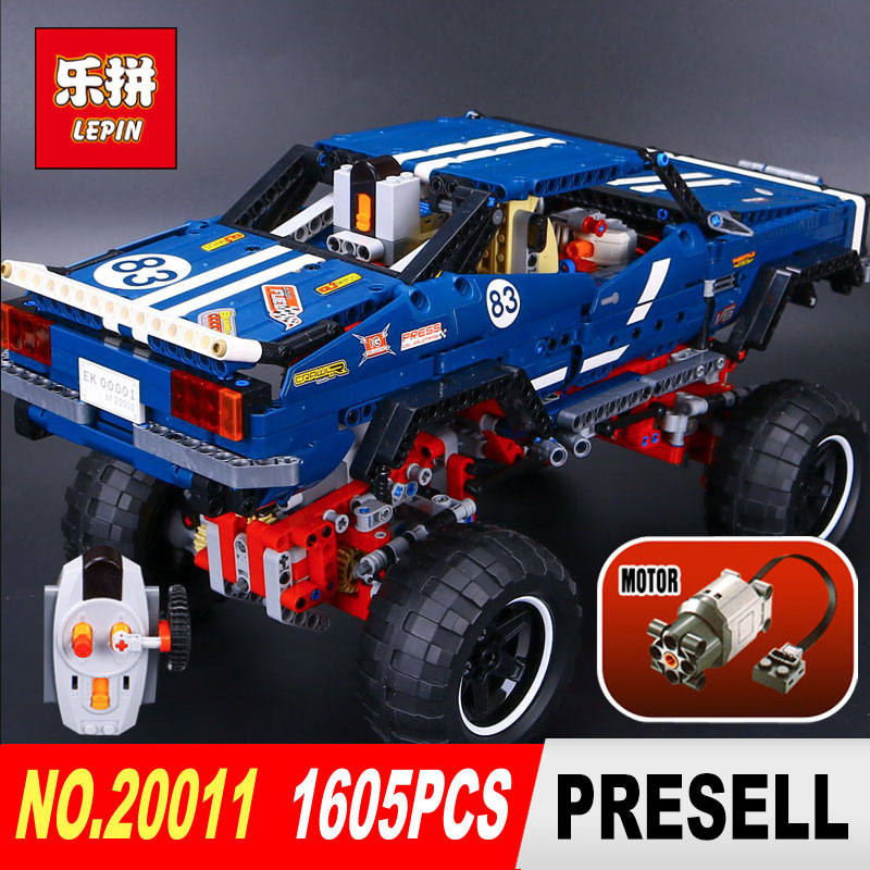 LEPIN 20011 Technic series Super classic limited edition of off-road vehicles Model Building blocks Bricks Compatible Toy 41999 lepin 20011 technic series super classic limited edition of off road vehicles model building blocks bricks compatible 41999 gift
