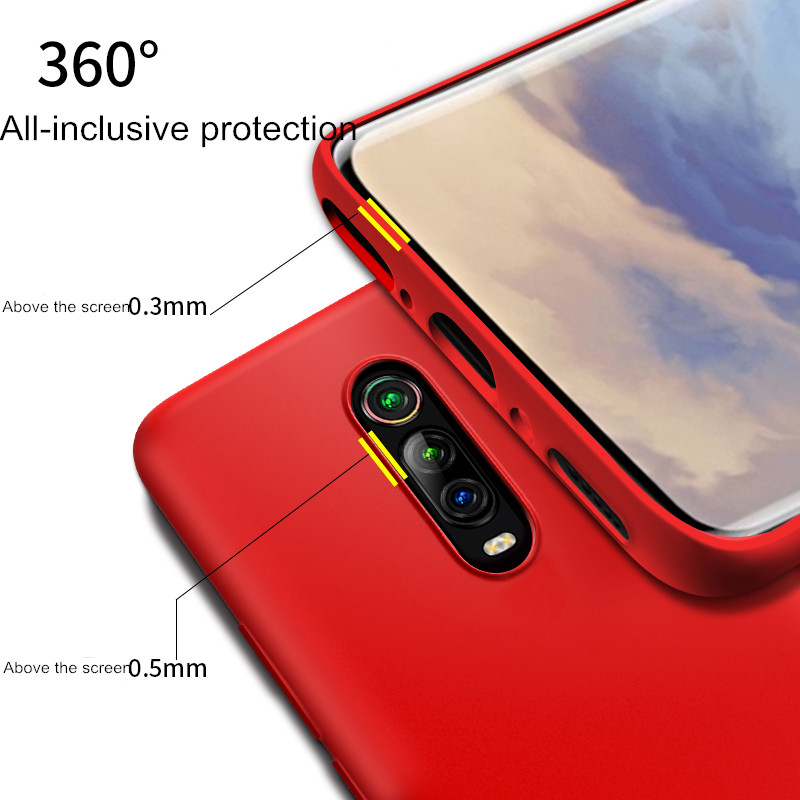 Vanniso Liquid Silicone Cover For Redmi K20 K20Pro note7 7pro Case Xiaomi Global Soft phone Cases For Xiaomi Mi9 mi8 se mi8lite in Fitted Cases from Cellphones Telecommunications