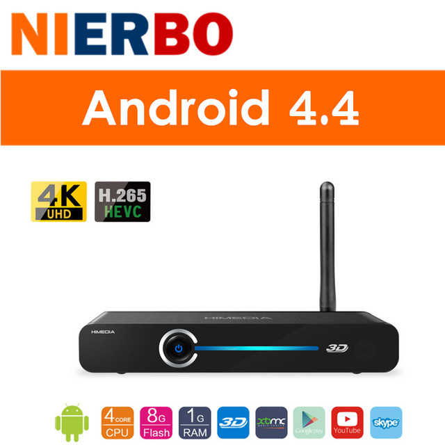 test Android TV Box HIMEDIA Q3 Smart Home TV Network player Quad ...