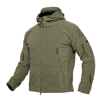 Outdoor Soft Shell Fleece Jackets Men's Military Tactical Jackets Army Sportswear Thermal Hunting Hiking Sport Hoodie Jackets