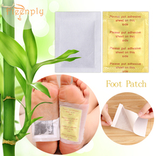 20pcs=(10pcs Adhesives+10pcs Patches) FTEENPLY Foot Patch Pure Natural Products Bamboo Charcoal Nourishing Feet Care