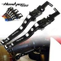 Motor Fold Lever For Honda Hornet 250 2001 Hornet250 Motorcycle CNC Aluminum Adjustable Folding Extendable Brake Clutch Levers